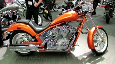 2011 Honda VT1300 Fury at 2012 Montreal Motorcycle Show