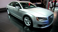 2012 Audi S8 at 2012 New York Auto Show