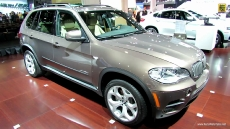 2012 BMW X5 35d xDrive at 2012 Los Angeles Auto Show