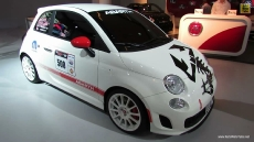 2012 Fiat 500 Abarth at 2013 Montreal Auto Show