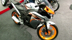 2012 Honda CBR125R at 2012 Montreal Motorcycle Show