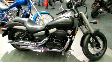 2012 Honda Shadow Phantom VT750 at 2012 Montreal Motorcycle Show