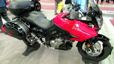 2012 Suzuki V-Strom DL1000 at 2012 Montreal Motorcycle Show