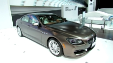 2013 BMW 640i Gran Coupe at 2012 NY Auto show