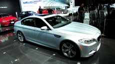 2013 BMW M5 at 2012 New York Auto Show