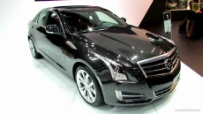 2013 Cadillac ATS 2.0T RWD at 2012 Paris Auto Show