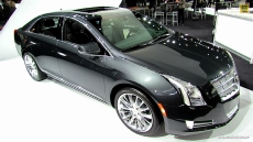 2013 Cadillac XTS Platinum at 2012 Los Angeles Auto Show