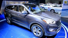 2013 Hyundai Santa Fe Limited AWD Long Wheel Base at 2012 Los Angeles Auto Show