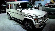 2013 Mercedes-Benz G63 AMG at 2012 Los Angeles Auto Show