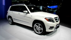 2013 Mercedes-Benz GLK350 at 2012 New York Auto Show