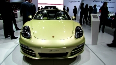 2013 Porsche Boxster Convertible at 2012 New York Auto Show