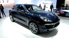 2013 Porsche Cayenne Diesel at 2012 New York Auto Show