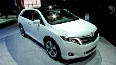 2013 Toyota Venza Limited at 2012 NY Auto show