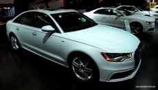 2013 Audi A6 S-Line at 2013 Montreal Auto Show