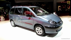 2013 Citroen C8 at 2012 Paris Auto Show