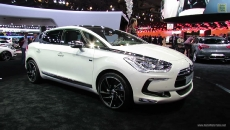 2013 Citroen DS5 Hybrid at 2012 Paris Auto Show