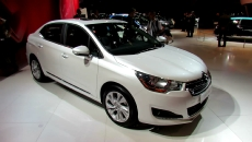 2013 Citroen C4L at 2012 Paris Auto Show