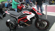 2013 Ducati Hypermotard SP at 2013 Quebec Motorcycle Show