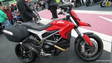 2013 Ducati Hyperstrada at 2013 Quebec Motorcycle Show