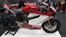 2013 Ducati Panigale 1199S Tricolore at 2013 Quebec Motorcycle Show