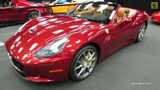 2013 Ferrari California at 2013 Montreal Auto Show