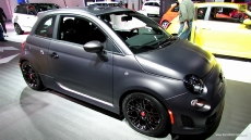 2013 Fiat 500 Abarth Tenebra at 2013 Detroit Auto Show