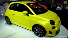 2013 Fiat 500 Turbo at 2013 Detroit Auto Show