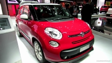 2013 Fiat 500L Pop Star at 2012 Paris Auto Show