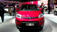 2013 Fiat Panda Trekking at 2012 Paris Auto Show