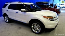 2013 Ford Explorer Limited at 2013 Montreal Auto Show