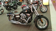 2013 Harley-Davidson Dyna Fat Bob at 2013 Montreal Motorcycle Show