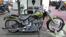 2013 Harley-Davidson Softail CVO Breakout at 2013 Quebec Motorcycle Show