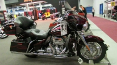 2013 Harley-Davidson Touring CVO Ultra Classic Electra Glide at 2013 Montreal Motorcycle Show