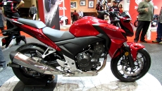 2013 Honda CB500F at 2013 Toronto Motorcycle Show