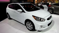 2013 Hyundai Accent GLS at 2013 Montreal Auto Show