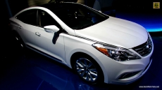 2013 Hyundai Azera at 2012 Los Angeles Auto Show