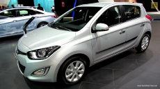 2013 Hyundai i20 Diesel at 2012 Paris Auto Show