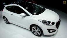 2013 Hyundai i30 Coupe at 2012 Paris Auto Show