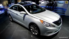 2013 Hyundai Sonata Limited at 2012 Los Angeles Auto Show