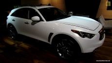 2013 Infiniti FX37 at 2013 Montreal Auto Show