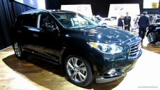 2013 Infiniti JX35 at 2013 Montreal Auto Show