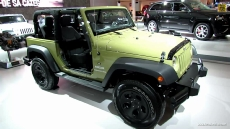 2013 Jeep Wrangler Sport at 2013 Montreal Auto Show