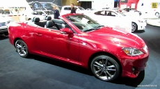2013 Lexus IS250c Convertible at 2013 Toronto Auto Show