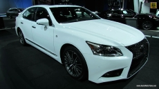 2013 Lexus LS460 F-Sport at 2012 Los Angeles Auto Show