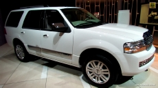 2013 Lincoln Navigator at 2013 Detroit Auto Show