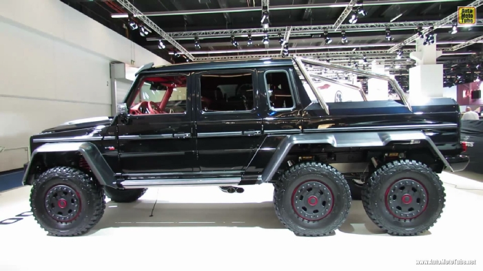 2013 mercedes benz g class 6x6 brabus 700 at 2013 frankfurt motor show. Black Bedroom Furniture Sets. Home Design Ideas