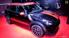2013 Mini John Cooper Works Countryman All4 at 2013 Detroit Auto Show