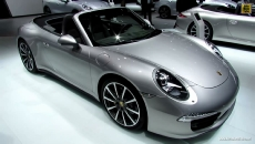 2013 Porsche 911 Carrera 4S Convertible at 2013 Detroit Auto Show