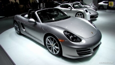 2013 Porsche Boxster Convertible at 2013 Detroit Auto Show