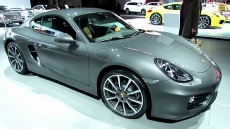 2014 Porsche Cayman at 2013 NY Auto Show